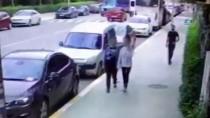 Teşhircilik yapan tacizci kameraya yakalandı
