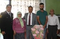 Pamuk, Afrin Gazisini Ziyaret Etti