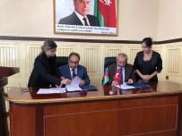 PEYAMİ BATTAL - Rektör Battal Azerbaycan'da 5 Üniversite İle İşbirliği Protokolü İmzaladı