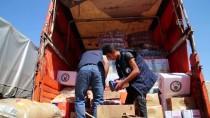 YARDIM MALZEMESİ - Şanlıurfa'dan İdlib'e İnsani Yardım