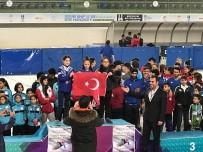 TÜRKIYE KUPASı - Short Track Türkiye Rekoru Erzurum'da Kırıldı