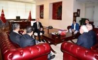 Türkiye Harp Malulü Gaziler Şehit Dul Ve Yetimleri Derneğinden Kılıçdaroğlu'na Ziyaret