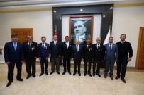 TÜRKIYE BÜYÜK MILLET MECLISI - Vali Çakacak, Gazileri Kabul Etti