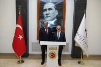 Vali Çakacak, KVK Kurul Başkanı Bilir'i Kabul Etti