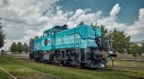 YAKIT TASARRUFU - Yerli Hibrit Lokomotif Almanya'da Tanıtıldı