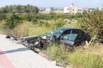 YÜKSEK GERİLİM - Antalya'da Kaza Ucuz Atlatıldı
