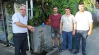 Burhaniye'de Baski'nin Kapattığı Çeşmeyi Başkan Kafaoğlu Açtırdı
