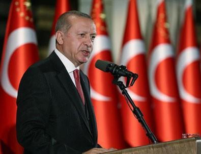 Cumhurbaşkanı Erdoğan: Yargı mensuplarının tarafı hukukun üstünlüğünden yana olmalı