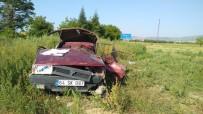 Denizli'de Otomobil Takla Attı Açıklaması 2 Ölü, 1 Yaralı