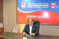 SEÇİM SÜRECİ - Eğitim-Bir-Sen Adana Şubesi'nde Kongre Heyecanı