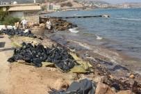 FUEL OIL - Foça'da Deniz Yüzeyini Kaplayan Maddenin Fuel Oil Olduğu Kesinleşti