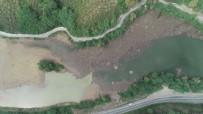 Heyelan İle Oluşan Sera Gölü Sel Kurbanı Oldu