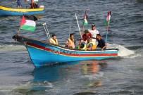 TOPRAK GÜNÜ - İsrail'in Ablukasını Kırmak İçin Onlarca Tekne Gazze Limanı'ndan Yola Çıktı