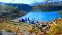 GÖKYÜZÜ - Nemrut Krater Gölü'nde Kamp Heyecanı