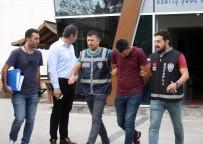 POLİS ARACI - 20 Tonluk Madeni Gasp Ederek Çalan Şahıslardan 3'Ü Tutuklandı
