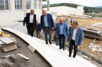 AK Parti'li Gündoğdu, İlçelerde Projeleri İnceledi