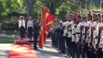 REFERANDUM - Almanya Savunma Bakanı Leyen Makedonya'da