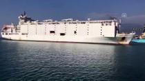 BÜYÜKBAŞ HAYVAN - Anguslar Deniz Yoluyla İskenderun Limanı'na Geldi
