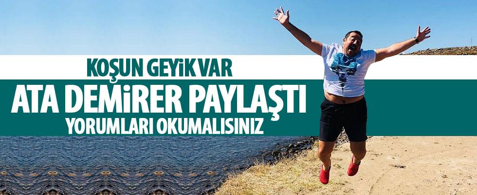 Ata Demirer'in fotoğrafına yorum yağdı