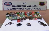 Balıkesir'de Jandarmadan Silah Operasyonu