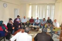 GAZILER - Başkan Akkaya'dan AKŞAD'a Ziyaret