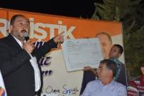 İSTİMLAK - Başkan Sarıoğlu Açıklaması 'Aralık Ayında 300 Parsel Tapularını Dağıtacağız'