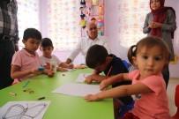 CENNET - Başkan Tollu, Kreşteki Çocuklarla Bir Araya Geldi