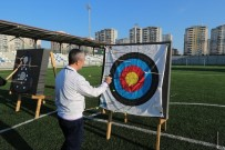 AMPUTE FUTBOL - Belediye Başkanı Tahmazoğlu, 'Ya Hak' Dedi Hedefi On İkiden Vurdu