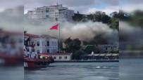 RESTORASYON - Beşiktaş'ta korkutan yangın