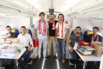 BOEING - Büyük Antalyaspor Derneğinde Uçak Lisesi'ne Koli Koli Kitap