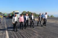 Çakır, Ereğli-Zonguldak Yolu Çalışmalarını İnceledi