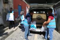 BUZDOLABı - Eyyübiye Belediyesi, Muhtaç Ailelere Yardımlarını Sürdürüyor