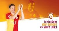 GALATASARAY - Galatasaray, Martin Linnes'in Doğum Günü Kutladı