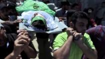 GAZZE - Gazze Şehidini Uğurladı