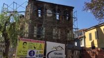 İTFAİYE ARACI - GÜNCELLEME - İzmir'de Tarihi Konak Yandı