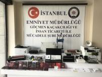 YEŞILPıNAR - İstanbul'da Sahte Pasaport Şebekesi Çökertildi