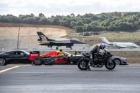 SOLO TÜRK - İstanbul Yeni Havalimanı Pistinde Birbirinden Hızlı 7 Araç Aynı Anda Yarıştı