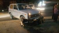 ELEKTRİKLİ BİSİKLET - Kozan'da Trafik Kazası Açıklaması 1 Yaralı