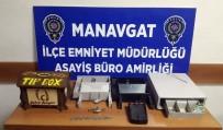 KOL SAATI - Manavgat'ta İş Yeri Hırsızı Yakalandı