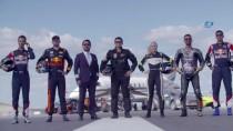 AVRUPA ŞAMPİYONU - Nefes Kesen Yarış Hem Havadan Hem De Kask Kamerasıyla Görüntülendi