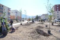 UZMAN ÇAVUŞ - Palandöken Belediyesi, Minik Öğrencilerle Fidan Dikti