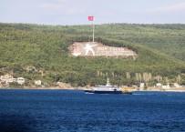 Rus Arama Kurtarma Gemisi Düşen Rus Uçağını Aramak İçin Çanakkale Boğazı'ndan Geçti