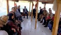 FIRAT NEHRİ - Şehit Aileleri Ve Gazilere Fırat Nehrinde Tekne Turu
