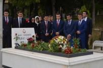 AHMET YAVUZ - Şehit Başsavcı Murat Uzun Kabri Başında Anıldı