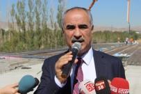 ERHAN ÜSTÜNDAĞ - Sivas'ın Trafiğini Rahatlatacak Bulvarın Yapımı Sürüyor