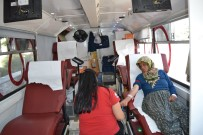 HÜKÜMET KONAĞI - Şuhut'ta Kan Bağışı Kampanyası Düzenlendi