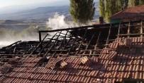 Sungurlu'da Köy Yangını