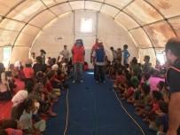 AFRİN - Suriyeli çocuklara psikososyal destek