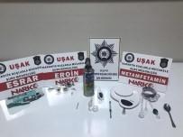 EROIN - Uşak'ta Narkotik Operasyonu Açıklaması 13 Gözaltı