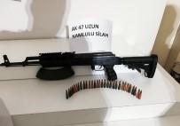 HAREKAT POLİSİ - Uzun Namlulu Silahla Yakalandı